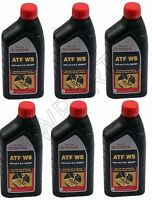 For Toyota Lexus Automatic Transmission Oil Fluid ATFWS Set Of 6 Quart Genuine