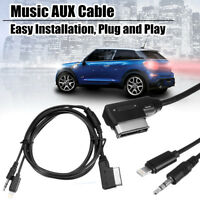 MMI Music Interface AUX Cable Cord 8pin Charging For IPOD IPHONE Mercedes-Benz