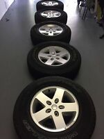Brand new 2017  Jeep Wrangler Wheels and Tires 17