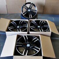Fits BMW 5 6 Series M6 Sport Style 437 in Black Machined Rims 20