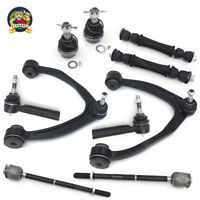 New 10pc Front Upper Control Arm Set & Complete Suspension Kit for GM Trucks