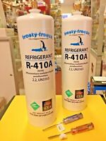 New Air Conditioner Refrigerant 410a, R410a, Two (2) 28 z. Cans, r-410, Pure New