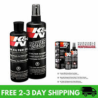 K&N Air Filter Oil Care Cleaning Service Kit Recharger Squeeze Bottle Car Spray