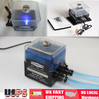 New SC-300T 12V DC Ultra-Quiet Water Pump Tank for PC CPU Liquid Cooling System