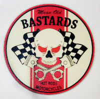 MEAN OLD BASTARDS RAT ROD HOT ROD RACING RAT FINK DECAL STICKER  CHOPPER  TOOLS