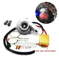 Electric Turbo Supercharger Air Filter Intake For Car Improve Speed Fuel Saver