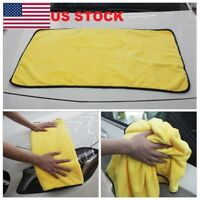 Car Wash Microfiber Towel Auto Cleaning Drying Cloth Hemming Super Absorbent