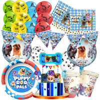 Puppy Dog Pals Party Balloon TABLE COVER Supplies Decoration CUPCAKE TOPPER CUP