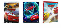 Cars 1 2 & 3 DVD's (Trilogy) Disney Pixar Bundle Brand New USA Sealed Box!