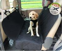 Jespet Dog Car Seat Cover,  Protector for Cars, Trucks, SUV, Black