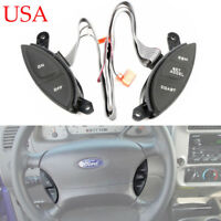 Steering Wheel Cruise Control Switch For Ford Explorer Sport Trac Ranger 98-