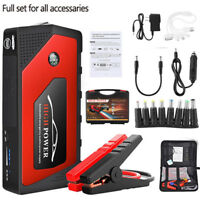 Bolt Power 600 Amp Peak Portable W/ 12V 69800mAh Car Battery RD+BK Jump Starter