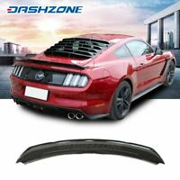 Track Pack Trunk Spoiler Wing Gloss Black Fit 2015-2018 Ford Mustang S550 GT350