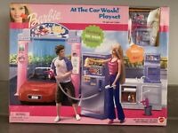 Barbie At The Car Wash Playset (2001) NEW SEALED! Never Used!