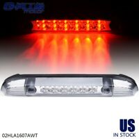 Black/Smoke Lens 3D Tube Third Brake Light Cargo Lamp For 07-13 Silverado Sierra