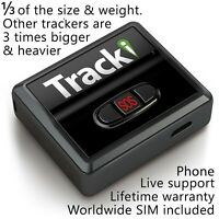 GPS Tracker Mini Real time Vehicles kids Hidden Spy Car Tracking device magnetic