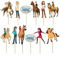 SPIRIT RIDING FREE HORSE CUPCAKE CAKE TOPPER party balloon decoration supplies