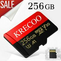 With Adapter 32GB 64GB 256GB Micro SD HC Class 10 TF Flash SDHC Memory Card