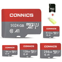 CONNICS 256GB 512GB 1024GB SD Memory Card Class 10 TF Flash Memory Card