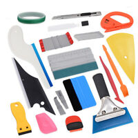 New Application Tools For Car Window Tint Vinyl Wrap Squeegee Knife Tuck Gasket