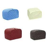 Padded Cotton Cover for 4-Slice Toaster Appliance Protective Case Bags Hot US