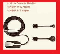EXPEDITED SHIPPING NEW Tesla Mobile Connector Charger & 240V Nema 14-50 adapter