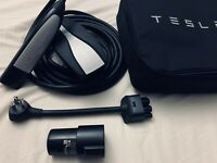 Brand NEW OEM Tesla Model S/X/3 UMC Mobile Connector Charger With Adaptor!!!!
