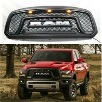 For 2013-2018 Ram 1500 Pickup Grille ABS Honeycomb Bumper Grill Mesh Rebel Style