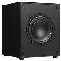 8-in 200W Powered Active Subwoofer W/Front-Firing Woofer HD Home Theater Systems