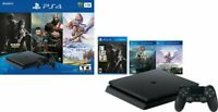 Sony PlayStation 4 PS4 Slim 1TB Console 3 Game Bundle - Same Day Shipping