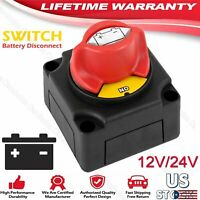 300A Battery Isolator Disconnect Switch for Marine Boat Car Rv ATV Vehicles US