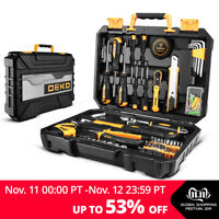 100Pcs Household Tool Set General Household Hand Tool Kit Box With Storage Case