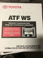 🔥2 Day🔥6 PACK LEXUS SCION TOYOTA GENUINE ATF WS TRANSMISSION FLUID 00289-ATFWS