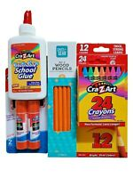 NEW Toddler Kids Home School Supplies Essentials Bundle Pack Learn by Playing