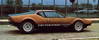New 1970-1984 DeTomaso Pantera GTS Euro Spec Side Decal Pair GT5 De Tomaso