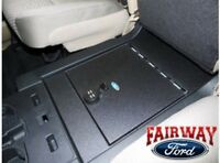 15 - 19 F-150 Genuine Ford Base Seat Console Combination Security Vault Gun Safe