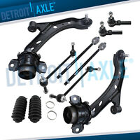 Front lower control arm w tierod for 2005 2006 2007 2008 2009 2010 Ford Mustang