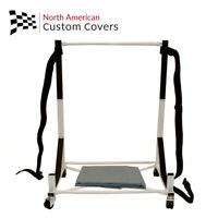 Sunbeam Tiger Hard Top Stand Storage Trolley Cart Rack & Hardtop Dust Cover{050}