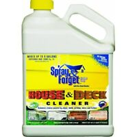 Spray & Forget Deck & House Cleaner,No SFHD64OZ-4,  Spray & Forget