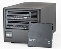 MagStor SAS-2HL6 Desktop with Dual LTO6 SAS Tape Drives