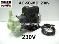 March pump  AC-5C-MD  230v  1020 gph   Replacement pump for Cruisair PMA1000C...