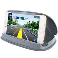 Car Sticky Dash Cell Phone Mount Holder Auto Accessories Grey