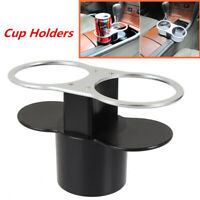 New Car Seat Seam Wedge Dual Cup Drink Holder Travel Storage Bottle Glass Stand