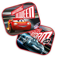 2 x NEW Disney CARS Car Window Sun Shade Baby Boy Girl Kids Children UV Blinds