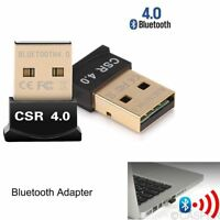 Bluetooth CSR V4.0 Dongle Wireless Adapter 20m 3 Mbps for Windows PC Tablet Mini