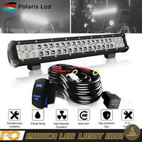 FIT Ford Truck SUV 4X4 Pick 20Inch LED Light Bull Bar +wiring harness kit