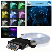 16W 7 Colors Bright RGBW Light Engine Car SUV Ceiling Light Fiber Optic Star Kit
