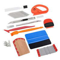 Vinyl Squeegee Window Tint Wrapping Tools Kit Gloves Knife for Car Home DIY
