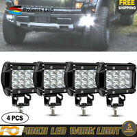 4X4inch 18W CREE LED Work Light FLOOD Driving FIT Truck boat Offroad ATV UTV