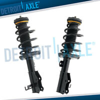 Pair (2) Front Struts w/Coil Springs for Chevrolet Malibu Impala Buick Allure